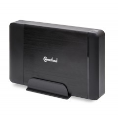 "External USB 3.0 Enclosure for 3.5"" SATA III Hard Drives (Black)"