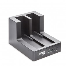 "USB 3.0 Dual Slot 3.5"" and 2.5"" SATA III HD Docking Station with Duplication Support"
