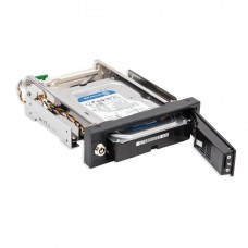 "5.25"" Bay Drive Tray Less Mobile Rack for 3.5"" SATA III Hard Drives"