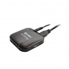 Pocket Size 4 Port USB 3.0 Hub