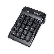 USB 2.0  19 Key Numeric Keypad with Backspace Bar