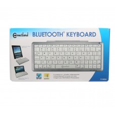 Bluetooth 3.0 Wireless Keyboard with Detachable Stand Support Tablet and Phones