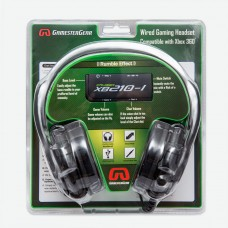 Cruiser XB210-I BASS QUAKE Stereo Gaming Headset with Detachable Boom Mic for XBOX 360