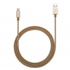 3 ft Sleeved Lightning to USB2.0 Data and Charging Cable