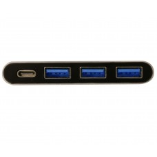 USB 3.1 Type C with Power Delivery and USB 3.1 Gen 1 3 Port Hub