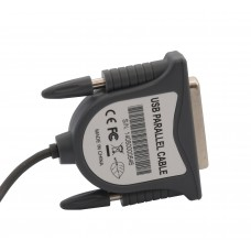 USB 2.0 to Parallel DB25 Port Adapter Cable