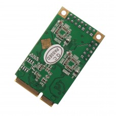 Mini PCI-Express 2-Port Gigabit Ethernet Card