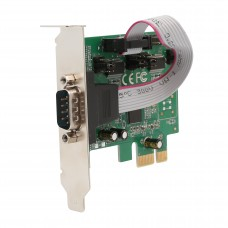 2 Port DB9 RS-232 Serial PCI-Express x1 Card