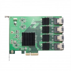 16 Port SATA PCI-e 2.0 x4 Controller Card