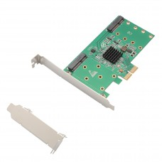 4-port mSATA to PCI-e x2 adapter with RAID
