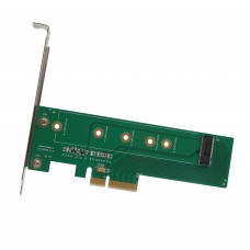 M.2 PCI-e To PCI-e 3.0 x4 Card (M-Key or B+M key)