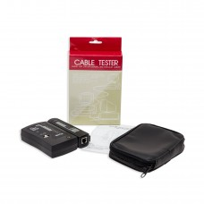 LAN Cable Tester for UTP, STP, Coaxial, and Modular Cables