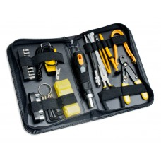 43 Pieces Computer Basic Maintenance Tool Kit, Slim Zipped Case