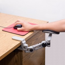 Aluminium Alloy Ergonomic Computer Desk Arm Support Wrist Rest.  Tuned Both Horizontal and Vertical Direction