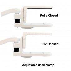 Aluminium Alloy Ergonomic Home and Office Computer Desk Arm Support tuned Wrist Rest