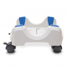 """Plastic Stand for ATX Case with Adjustable Width from 5.7"""" to 9.7"""" (14.5cm to 24.5cm) with Caster wheels"""