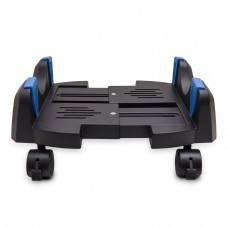 "Plastic Stand for ATX Case with Adjustable Width  from 5.7"" to 9.7"" (14.5cm to 24.5cm) with Caster wheels"
