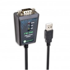 USB 2.0 to Serial DB9 RS232 Port Adapter Cable