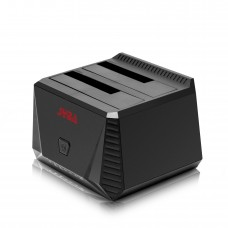 USB 3.0 Dual Bay HDD Docking Station