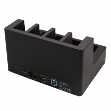 USB 3.0 or eSATA 4 Bay HDD Dock with PC Less Clone Function