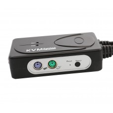 2 Port VGA and PS/2 KVM Switch with Audio support