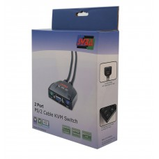 2 Port VGA and PS/2 KVM Switch