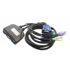 2 Port PS/2 VGA KVM Switch
