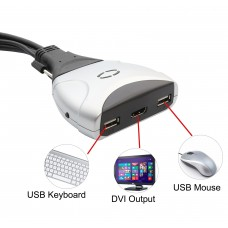 2 Port HDMI and USB 2.0 KVM Switch