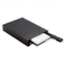 "Dual Bay Trayless Mobile Rack for Two 2.5"" SATA III HDD or SSD"