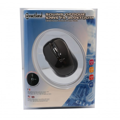 Bluetooth 2 1 + EDR Wireless Optical Mouse, Rubber Coating