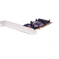 Syba 2-Port SATA I PCI Raid Controller Card Silicon Image Chipset SD-SATA150R