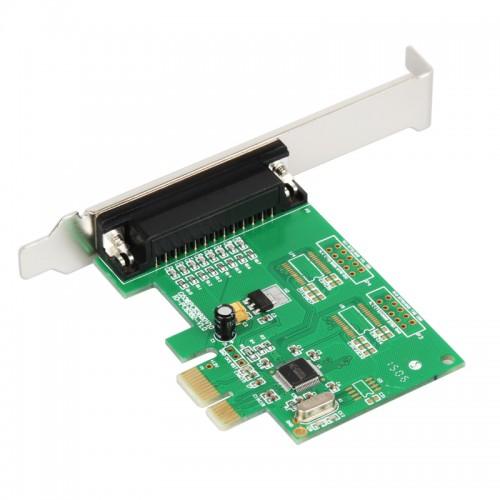 Sienoc PCI-express to 1-port DB-25 LPT1 Parallel Printer Port Card WCH CHIP