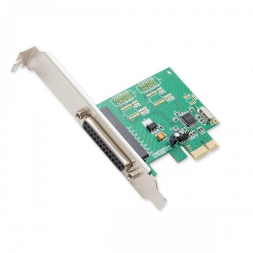 1 Port Parallel DB25 PCI-e x1 Card - SI-PEX10010