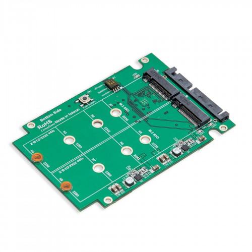 Dual M2 SSD To SATA III RAID 25 Enclosure
