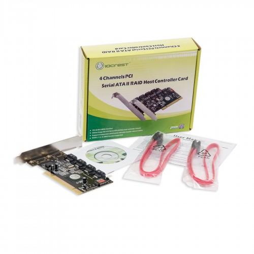 Syba SY-PCI40010 4 Port SATA II PCI RAID Card